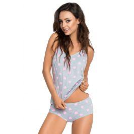 Dámské pyžamo Alice 01  růžovošedá
