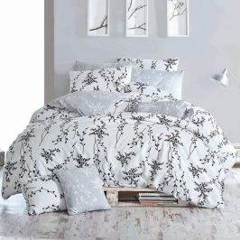 Povlečení Blumen 140x200 jednolůžko - standard bavlna