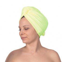 Turban na vlasy zelený doplňky zelená
