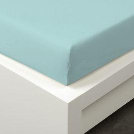 Napínací prostěradlo Tencel tyrkysové 90x200 cm jednolůžko - standard 48% tencel, 4% elastan, polyester