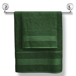 Bambusový ručník Moreno tmavězelený 50x90 cm Ručník