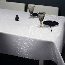 Ubrus Liliana bílý 120x200 cm bílá