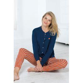 Dámské pyžamo Manon II  modročervená