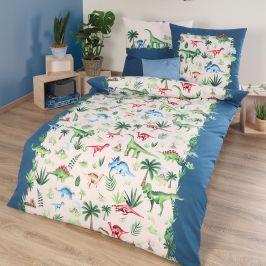 Dětské povlečení Dinos 140x200 jednolůžko - standard bavlna