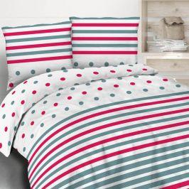 Povlečení Funny stripes 220x200 dvojlůžko - standard bavlna