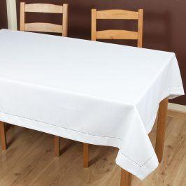 Ubrus Anna bílý 110x160 cm polyester