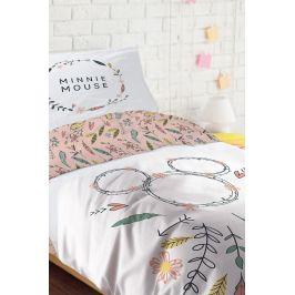 Dívčí povlečení Minnie 140x200 jednolůžko - standard bavlna