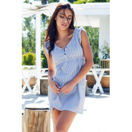 Dámské letní domácí šaty Maglia Magic modrobílé  modrobílá