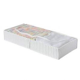 Textilní úložný box Anton 107x46 cm bílá