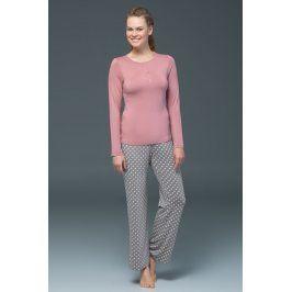 Dámské pyžamo Rose - modal  růžová