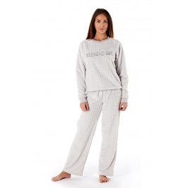 Dámské pyžamo Weekend Girl Grey  šedá