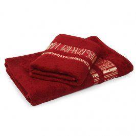 Bambusový ručník Jambi bordó 50x90 cm Ručník