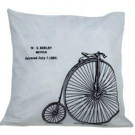 Povlak na polštářek Bike 42x42 cm Polyester