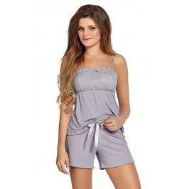 Elegantní dámské pyžamo Colette  šedá