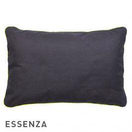 Dekorační polštář Essenza Duke tmavě šedý 40x60 cm Antracit