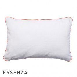 Dekorační polštář Essenza Duke bílý 40x60 cm Bílá