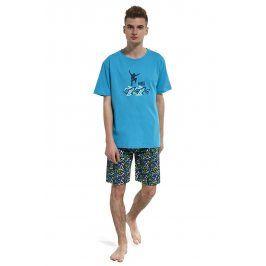 Chlapecké pyžamo Skate  tyrkysová