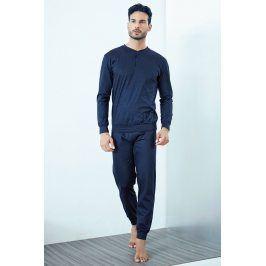 Pánské italské pyžamo Evio  modrá