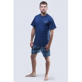 Pánské pyžamo Relax  tmavěmodrá
