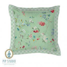Dekorační polštář Pip Studio zelený 45x45 cm Zelená