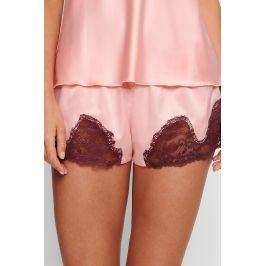 Luxusní pyžamové šortky Portmany  růžová