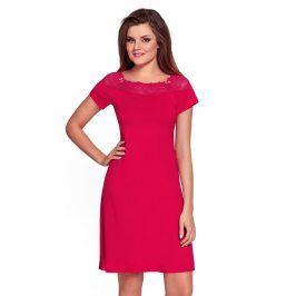 Dámská noční košilka Laurencja Ruby  červená