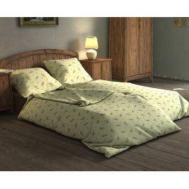 Povlečení Levandule světle zelené 140x200 jednolůžko - standard Bavlna