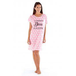 Noční košile Diva  růžová