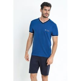 Modré pyžamo Gregor  modrá