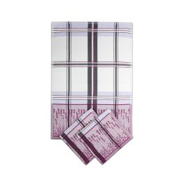 SET kuchyňských utěrek Levandule 50x70 cm bavlna