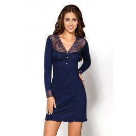 Dámská noční košile Melani Granat  modrá