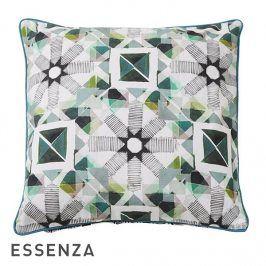 Dekorační polštář Essenza Meya 45x45 cm Zelená