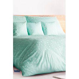 Povlečení tencel Green Flower 140x200 jednolůžko - standard bavlna