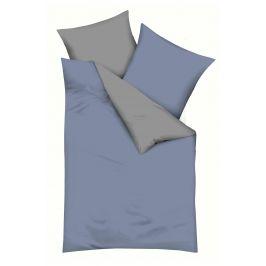 Povlečení Chambray šedé 140x200 jednolůžko - standard bavlna