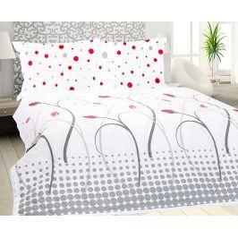 Přehoz na postel Lale 220x240 cm Bílá