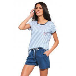 Dámské pyžamo Sea of Love modré  modra