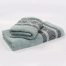 Bambusový ručník Tara - mátový 70x140 cm Osuška