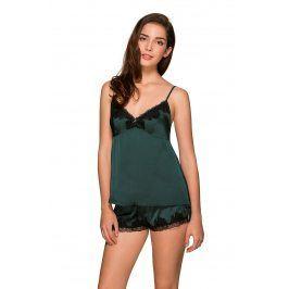 Noční košilka Vivian  zelená
