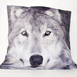 Povlak na polštářek Wolf 42x42 cm Polyester
