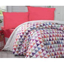 Povlečení Parveen 140x200 jednolůžko - standard bavlna