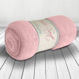 Deka Basic růžová 200x220 cm růžová