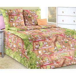 Povlečení Lesní domek 140x200 jednolůžko - standard bavlna