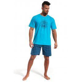 Pánské pyžamo CORNETTE Pacific  modrá