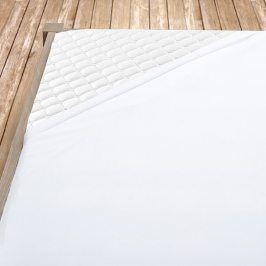 Napínací jersey prostěradlo bílé dětská postýlka Bavlna - jersey