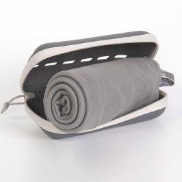 Rychleschnoucí ručníky Pocket Towel šedé 50x100 cm Ručník