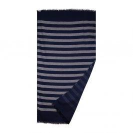 Plážová deka Navy 90x160 cm modrá