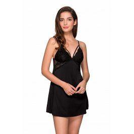 Elegantní košilka Agnes Strappy  černá