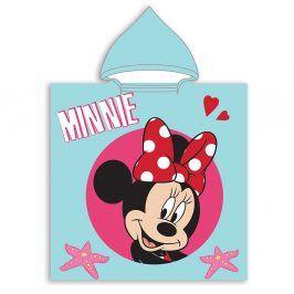 Dětské pončo Minnie 50x115 cm barevná