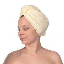 Turban na vlasy doplňky ecru