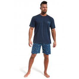 Pánské pyžamo CORNETTE Revolution  modrá